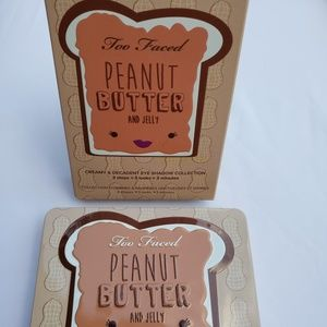 NEW Too Faced Peanut Butter & Jelly Eye Shadow Set